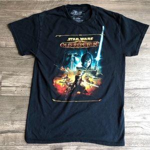 2/$30 STAR WARS OLD REPUBLIC T-Shirt Small